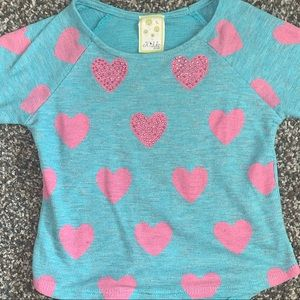 Sparkly Heart Sweater